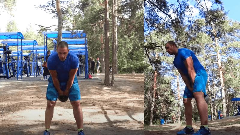 Как начать спину с помощью гири? 5 упражнений от Ивана Денисова для здоровой и сильной спины
