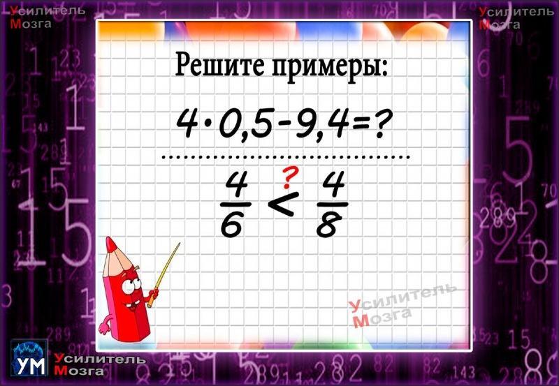 Справитесь за 3 минуты со всеми примерами? Тест по математике
