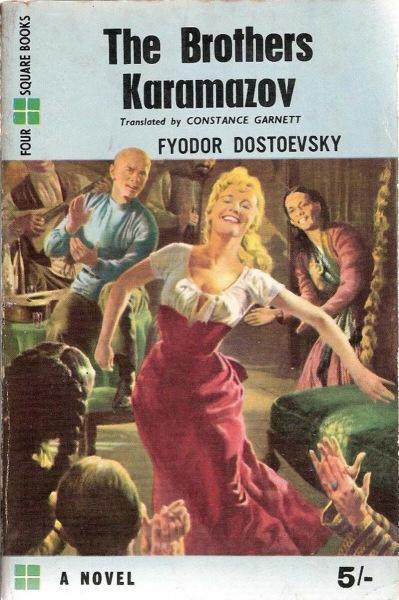 10 нелепых обложек великих романов (включая русскую классику), вышедших на Западе в эпоху бульварного чтива