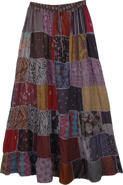 Бохо-шик на лето 2021: юбка своими руками, чудо-переделки(выкройки даю)