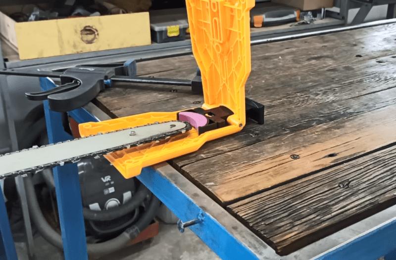 Как за 10 секунд наточить цепь на бензопиле, самый простой способ