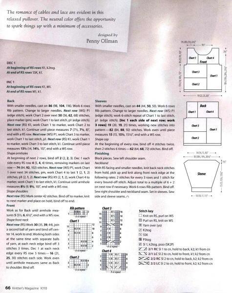 Оригинальные идеи для джемперов в пастельной гамме + мастер-класс для модели из журнала Filati.
