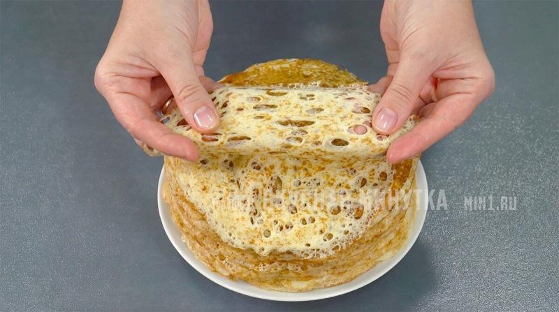"""Пекла вчера, пеку сегодня и на Масленицу буду печь """"правильные"""" блины: тоненькие, нежные, кружевные и ну очень вкусные"""