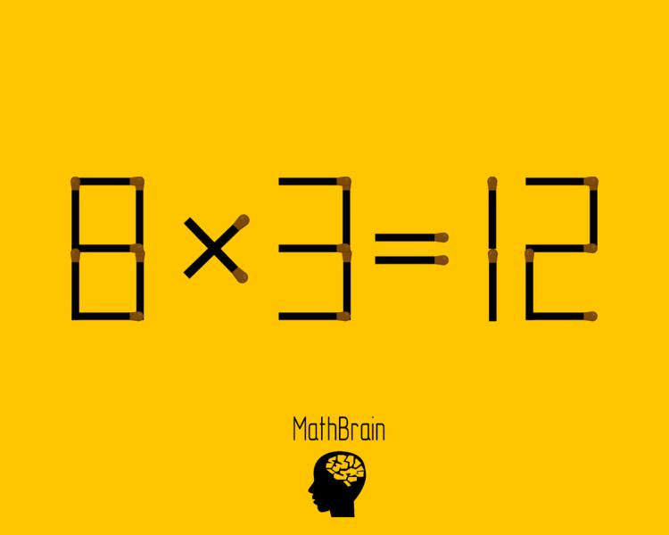 Попробуйте разгадать 3 занимательных головоломки со спичками за 2 минуты