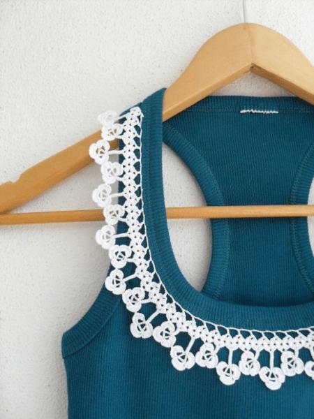 Преображаем нашу одежду, с помощью вязаных элементов - кайма, кружево, мотивы и т.д. Схемы для вязания.
