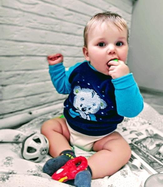 Семь развивающих занятий для ребенка шести месяцев.