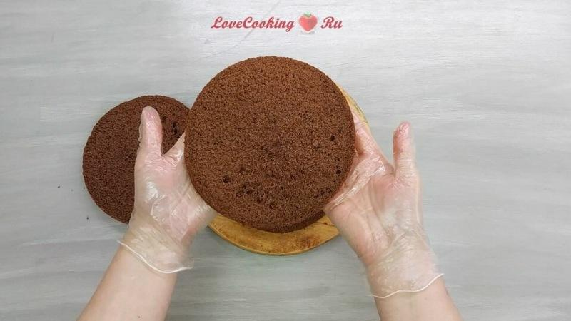 Шоколадный торт с орехами Ферреро Роше