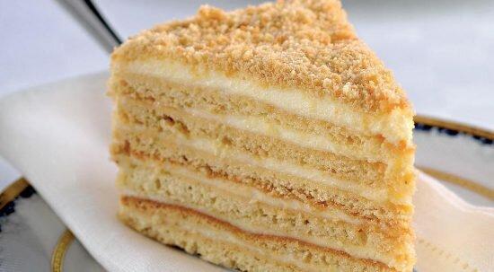 Торт Медовик, классический рецепт