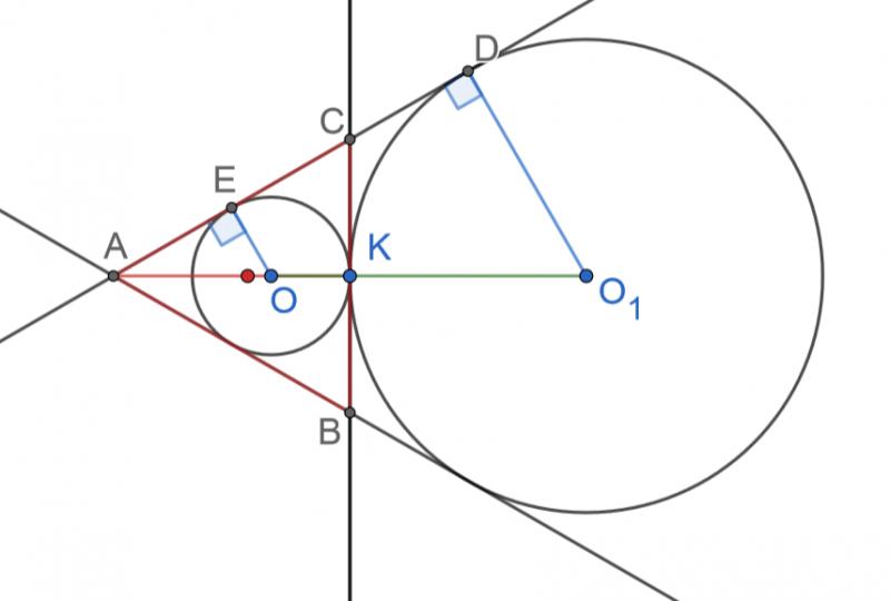 Задание 25 ОГЭ математика. Тема: окружность