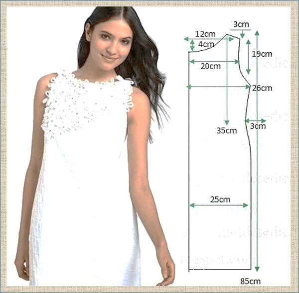 20 простых летних платьев с построением выкроек - не пора ли что-нибудь пошить к сезону