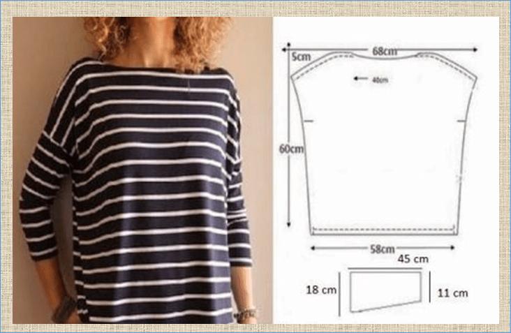 60 блузок и туник в стиле бохо с построением выкроек - ждем летнего сезона