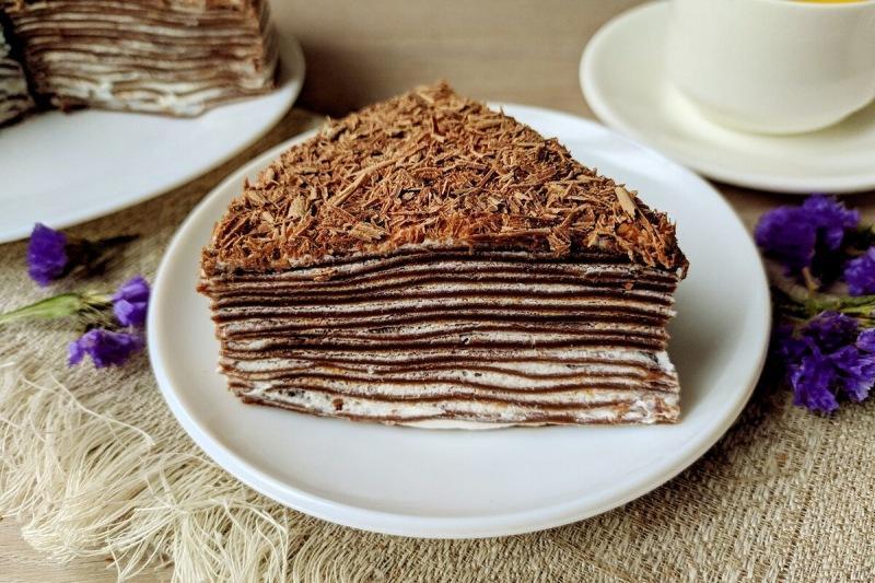 Блинный торт: начинаем готовиться к Масленице 🥞