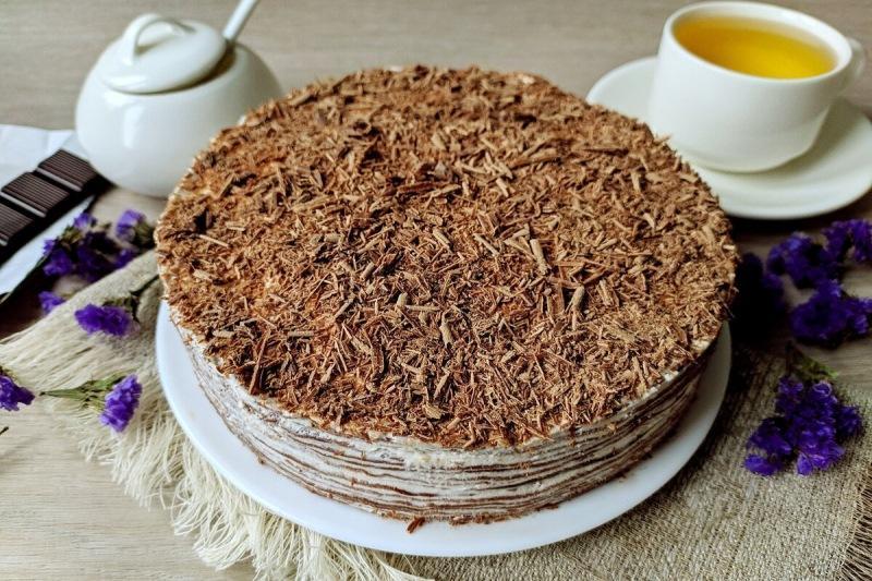 Блинный торт: начинаем готовиться к Масленице