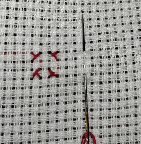 """Дробные крестики. Способы вышивки и советы от """"ленивой вышивальщицы"""""""