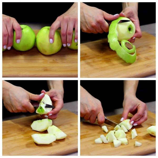 Готовлю без муки, яиц и сливок вкусный яблочный тарт. Любимое лакомство в пост.