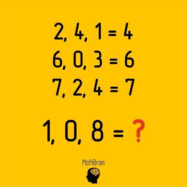 Какое число пропущено? Небольшой тест на сообразительность