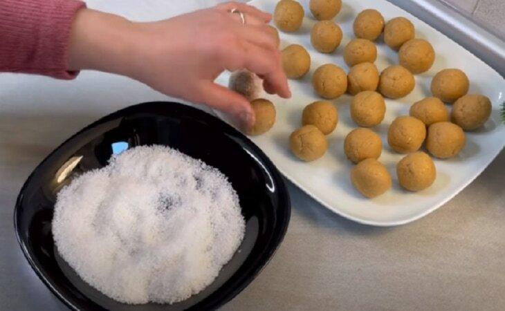 Печенье пятиминутка всего из трех ингредиентов
