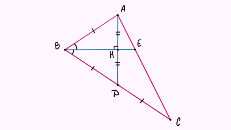 Просто теорема Менелая / Задание №25 / ОГЭ