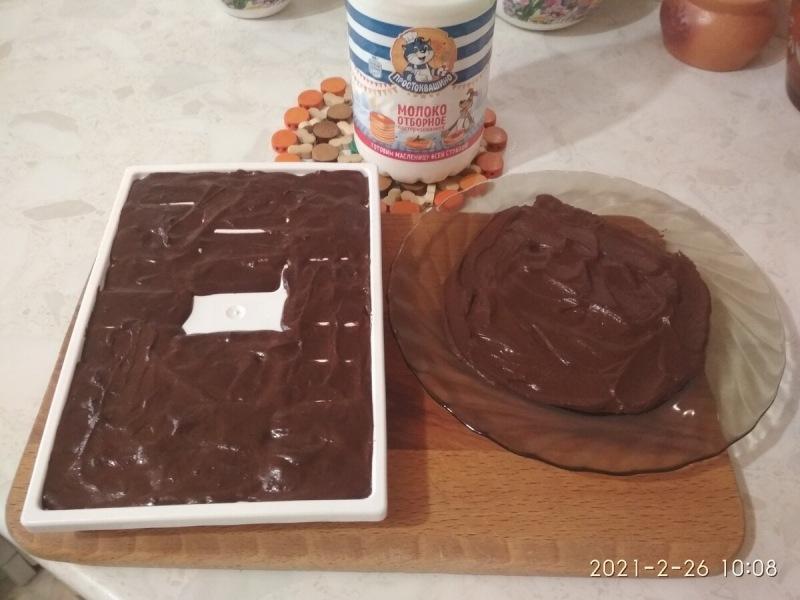 Шоколад сделанный своими руками, отличный десерт.