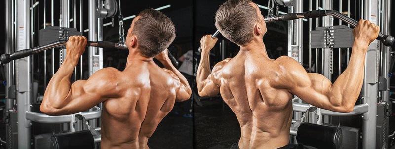 Тяга верхнего блока – какой хват и направление лучше выбрать для более эффективной тренировки спины