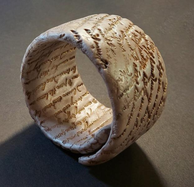 Уникальное украшение из полимерной глины своими руками. Быстро и просто.