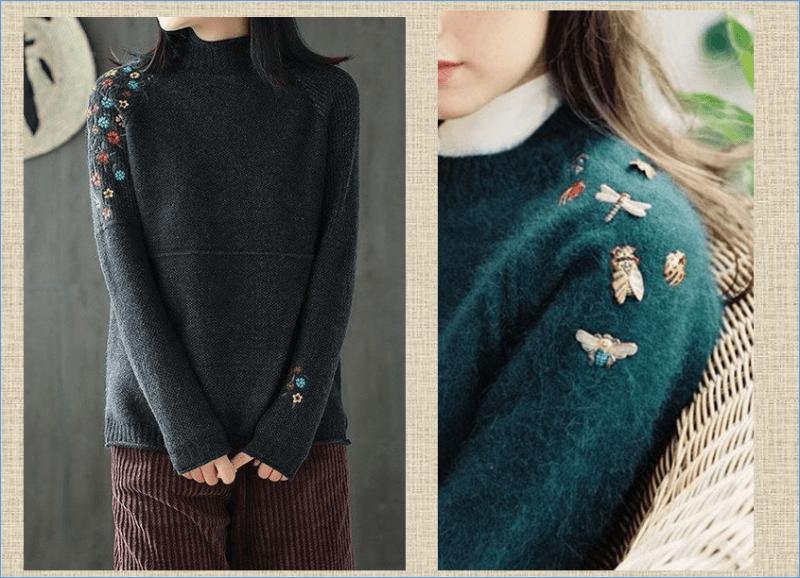 Весенняя переделка рукавов: посмотрим как можно освежить простую трикотажную кофточку - 75 примеров в фотографиях моделей