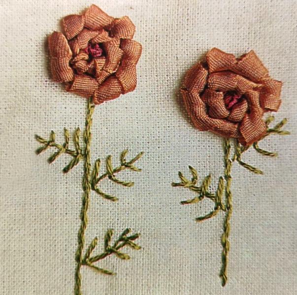 Вышивка лентами: каллы, анютины глазки и гиацинты
