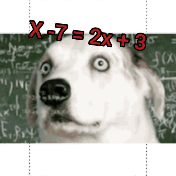 7 простых школьных уравнений по математике