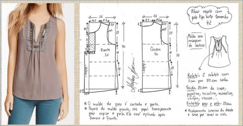 А бохо очень даже не плохо - шьем и моделируем бохо блузку и тунику - выкройки и примеры