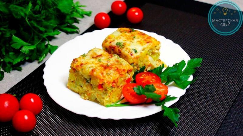 """Готовлю на ужин капусту """"по-турецки"""": простую, вкусную и сытную запеканку (делюсь рецептом)"""