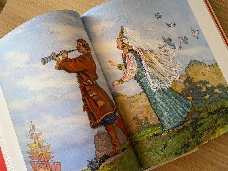Я нашла самые лучшие книги со сказками и былинами для детей.