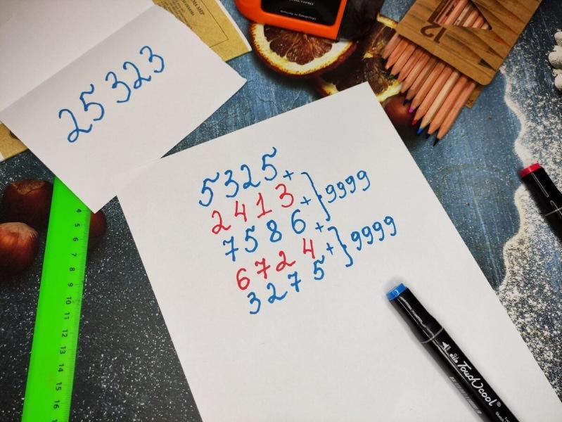 Показал сыну интересный математический фокус, он удивил им своего учителя и получил за это пятерку
