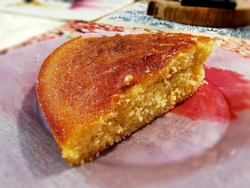 Влажный и вкусный лимонный пирог без долгих хлопот