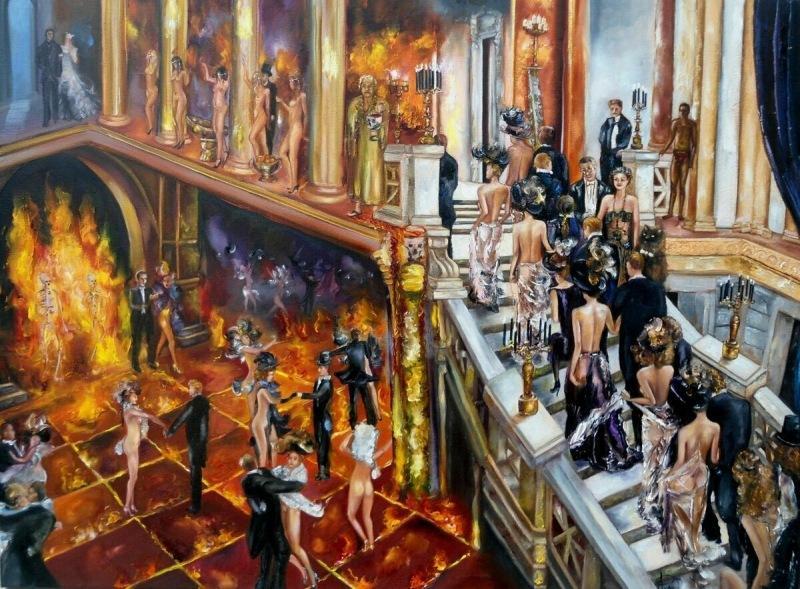 Вспоминаем роман «Мастер и Маргарита», а точнее 23 главу «Великий бал у сатаны» М. А. Булгакова