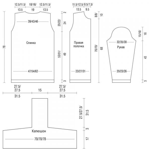 5 легких, красивых кардиганов спицами. Подборка кардиганов спицами. Кардиганы спицами, схемы и описание.
