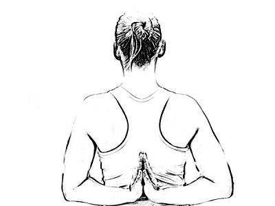 Обратная молитвенная поза, которая позволяет сделать красивую осанку, сохранять молодость и здоровье