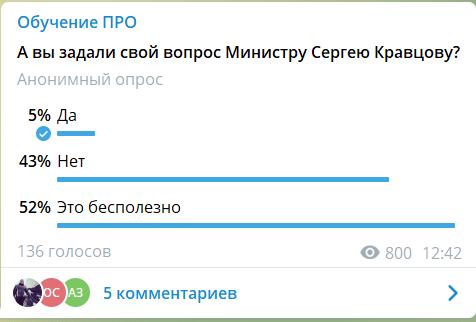 Всероссийское Родительское Собрание провалено. Минпросвещению нужно менять формат