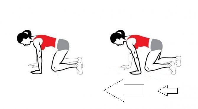 Когда времени нет совсем - быстрая утренняя зарядка в виде ходьбы на четвереньках, в замен мы получаем фигуру и здоровье