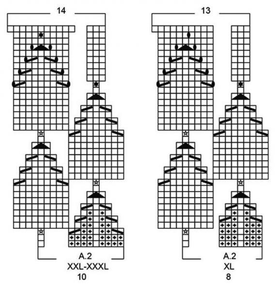 Подборка красивых топов спицами. Топы спицами, схемы и описание. Вязание спицами.