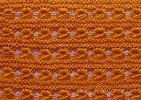 Подборка красивых узоров спицами. Узоры спицами, схемы и описание. Вязание спицами.